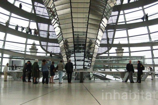 Reichstag, berlin, Foster & partners, restoration, architecture, energy efficient, daylight, parliament building, glass, cupola