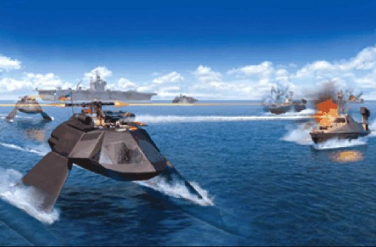 First Super-Cavitating Ship, GHOST, Juliet Marine Systems, GHOST craft, US Navy, stealth technology, Super-Cavitating Vessel, green boats, green ships, green shipping