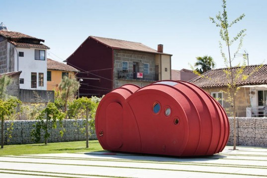 Gabriela Gomes, Shelter ByGG, Cork, cocoon, portugal, urban shelter, Architecture, energy efficiency, Green Materials