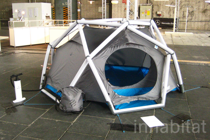 Heimplanetu0027s geodesic inflatable dome tent « Inhabitat u2013 Green Design Innovation Architecture Green Building & Heimplanetu0027s geodesic inflatable dome tent « Inhabitat u2013 Green ...