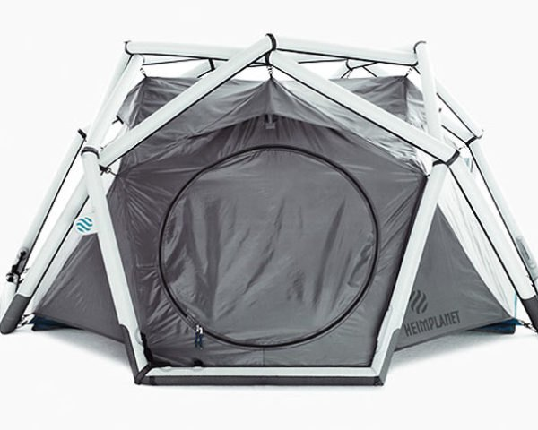 Heimplanet, Inflatable Geodesic Dome, Inflatable tent, DMY berlin, german design, Architecture, green technology