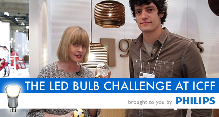 VIDEO: THE LED BULB CHALLENGE - We Upgrade 5 Designer Lamps at ICFF With Low-Energy LED Bulbs