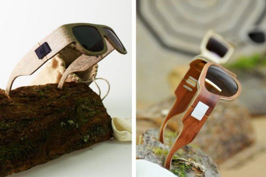Marius Temming, Eco Sunglasses, Natural Fibers, Hemp, Kenaf, Flax, Carl Zeiss Vision, shades, Bioresin, german design, Wearable Technology, Green Materials, Recycling / Compost,