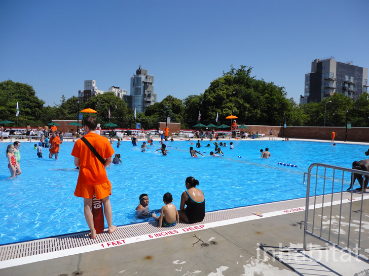 Pics Mccarren Park Pool Opens Today To Swimmers In Brooklyn Inhabitat Green Design