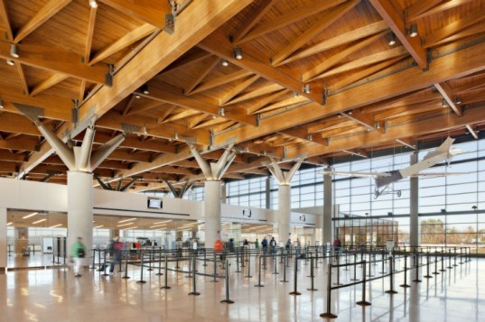 Portland Jetport, Gensler, leed gold airport, eco airport, green airport, portland international jetport, maine