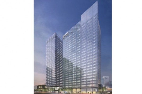 Toronto 39 s pwc tower is a smart office building with an for 8000 square foot building