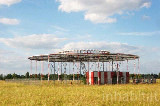 The World is Not Fair, Berlin, Tempelhof Airport, Experimental Architecture, Raumlabor Berlin, HAU theatre, re-appropriation, experimental, temporary architecture, Architecture, Art, Recycled Materials, Green Events