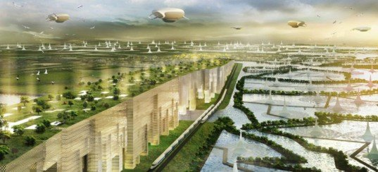green design, eco design, sustainable design, Thailand, Shma Design, Water City, Association of Siamese Architects, Water Brick, UNESCO World Heritage, Ayutthaya, flood control
