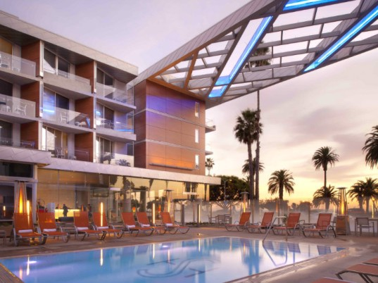 Shore Hotel, Gensler, eco hotel, santa monica, green hotel, sustainable hotel, green concierge