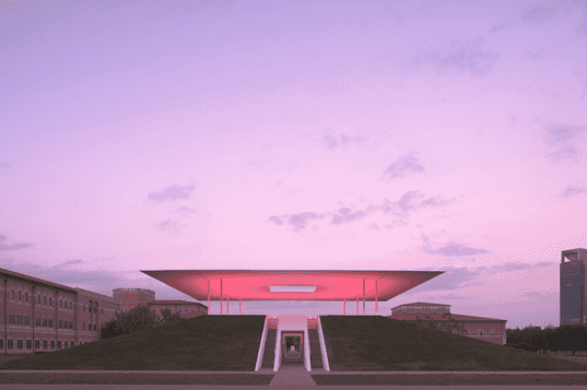 Twilight Epiphany, Skyspace, James Turrell, Houston, Texas, Suzanne Deal Booth, Rice University, LED, green design, art, sustainable design, eco-design