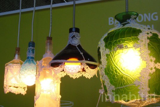 OU Studio, Farmer's Creativity, Taiwan's, DMY Berlin, recycled glass, lamps, DIY, Art, Green Lighting, Recycled Materials