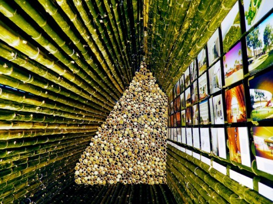 green design, eco design, sustainable design, Vo Trong Nghia, bamboo architecture, Vietnamese architecture, sustainable architecture, Bamboobooth