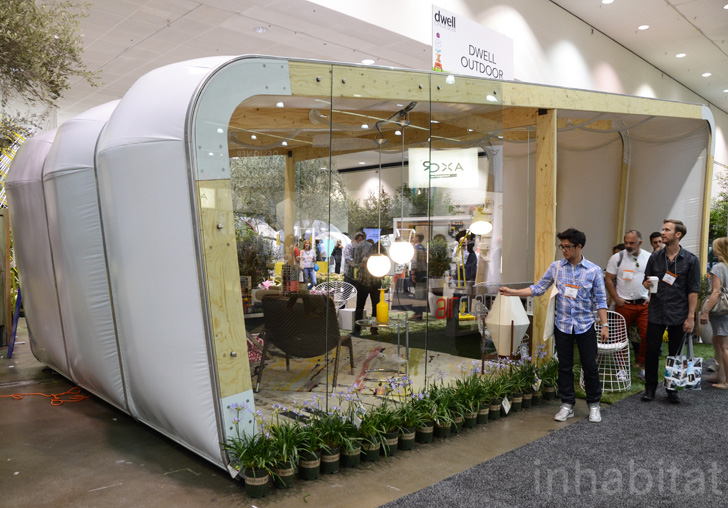 The best green designs at dwell on design 2012 for Dwell small house plans