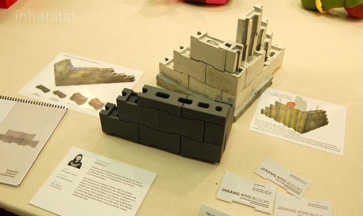 parsons mfa product design, new york design week, jarang koo, construction blocks