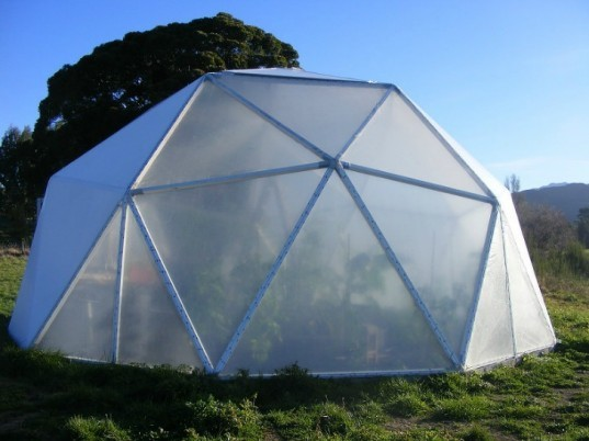 domegrown, geodesic dome greenhouses, photosynthesis, green design, sustainable design, eco architecture, gardening