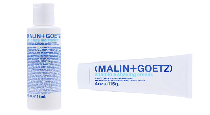 Malin + Goetz, Shaving Cream, Moisturizer, paraben-free skincare, men's skincare, natural skincare, green father's day gifts, green gifts for dads, green gifts, sustainable design, green design, green gifts for guys, father's day 2012, green fashion, sustainable style, green dad, green presents, eco gift guide