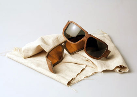 Marius Temming, Eco Sunglasses, Natural Fibers, Hemp, Kenaf, Flax, Carl Zeiss Vision, shades, Bioresin, german design, Wearable Technology, Green Materials, Recycling / Compost