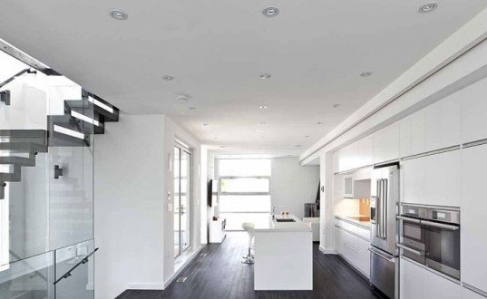 daylighting, natural light, lighting in homes, toronto architecture, Patio House, Reza Aliabadi, atelier rzlbd