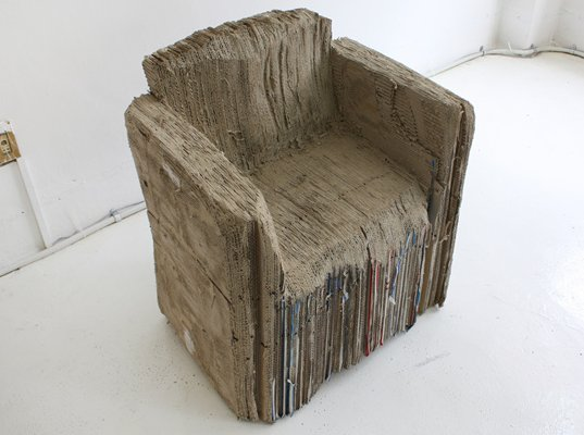Monocomplexs Reborn Chair Is Made From 127 Flattened And