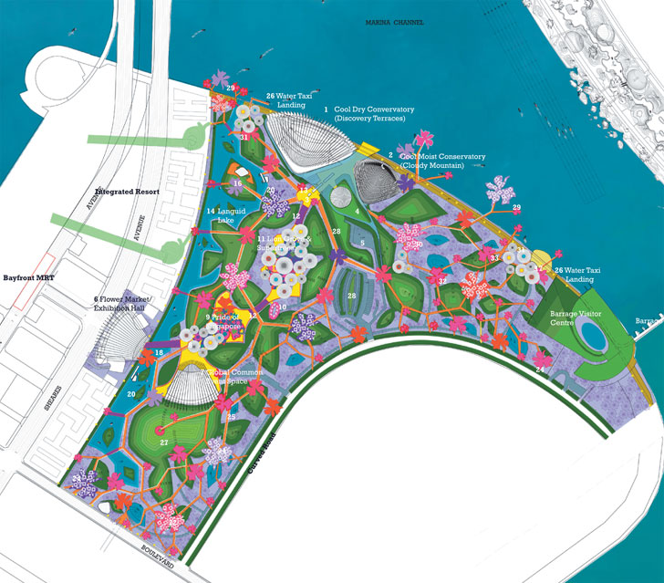 startslideshow gardens by the bay - Garden By The Bay East Entrance