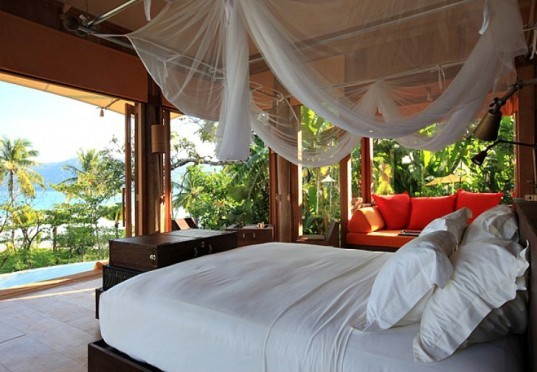 eco resorts, eco friendly resorts, sustainable design, eco friendly vacations, organic food, soneva kiri, koh kood, Thailand