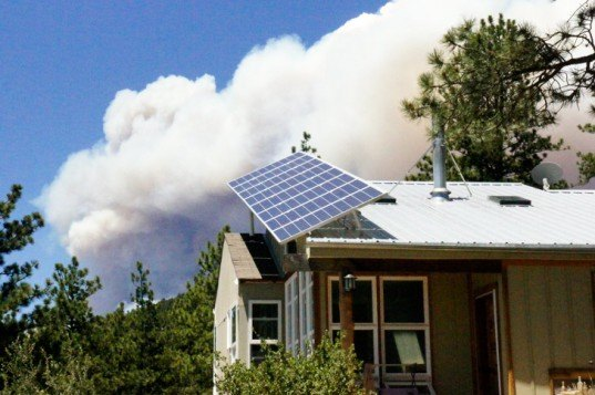 fire protection, fire resistant house, fireready, High Park Fire, urban wildland interface