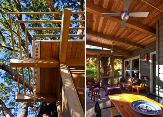 Terrell Hills, Texas, sustainable upgrade, green renovation, natural materials, thermal mass, daylighting, passive solar, green design, sustainable design, eco-design, Tree House, John Grable