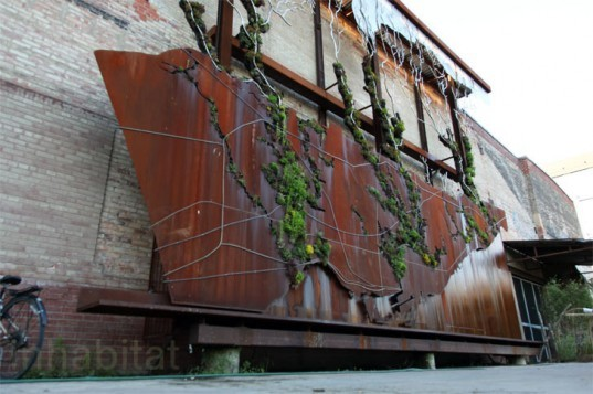 Watershed Wall, Toronto, Ferruccio Sardella, Evergreen Brick Works, Living Wall
