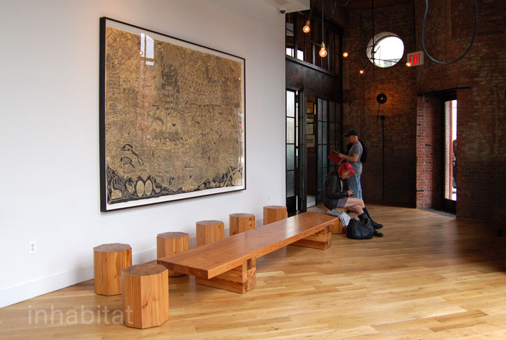 wythe hotel, brooklyn hotels, adaptive reuse, nyc, brooklyn, old factory, hip hotels