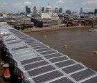 Construction of The World's Largest Solar Bridge Reaches Halfway Point in London