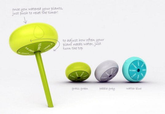 The Droplet, gardening tools, droplet gardening, electronic gardening tools, water gardening tools, indoor plant watering