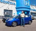Honda Delivers the First 2013 Fit EV to a Couple in California