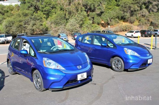Honda, Honda Fit, Honda Fit EV, electric car, Honda electric car, green transportation, green car, lithium-ion battery