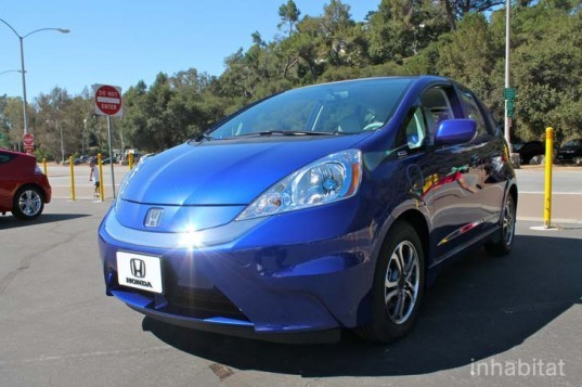 Honda, Honda Fit, Honda Fit EV, Honda electric car, electric car, green transportation, Nissan LEAF, lithium-ion, Ford Focus Electric, green car