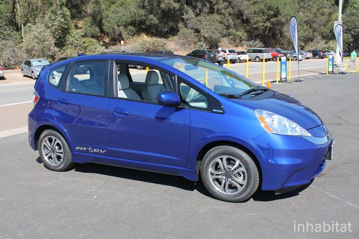 TEST DRIVE 2013 Honda Fit EV Is The Most Fuel Efficient Car in