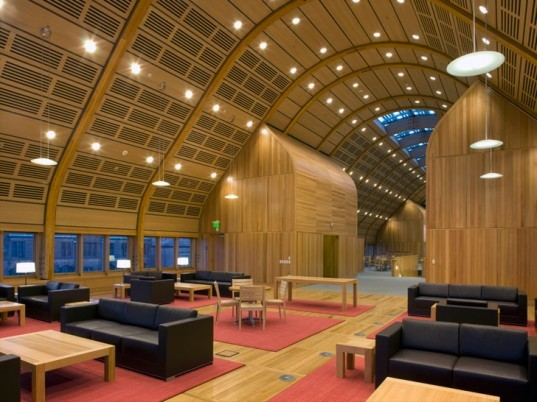 Kroon Hall, Yale University, Yale School of Forestry and Environmental Studies, Sustainable Building, Solar Power, Green Technology, Energy Efficiency, Hopkins, Arup, Centrebrook, Green Building