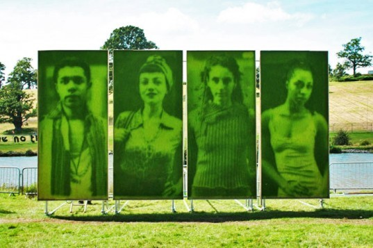 Ackroyd & Harvey, grass photograph, Heather Ackroyd, Dan Harvey, grass art, Face to Face