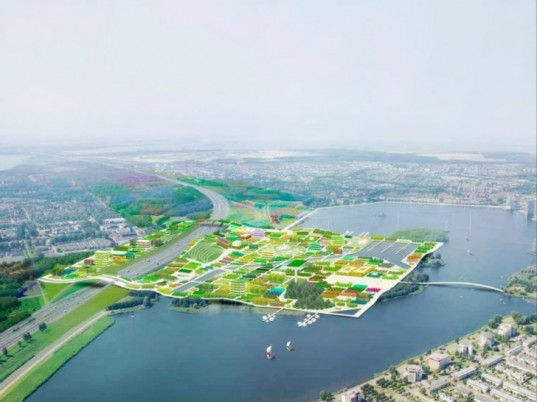 Almere, Floriade 2022, MVRDV, green city, horticulture expo, the netherlands, landscape architecture