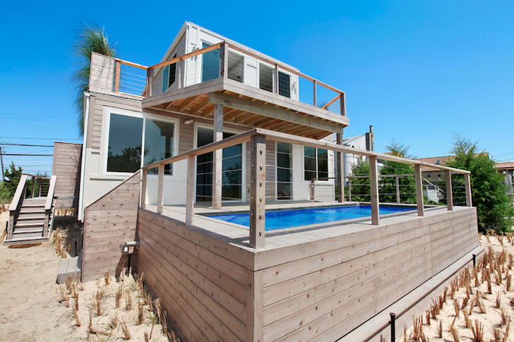 The Beach Box is the First Hamptons Home Built With Recycled Shipping Containers!