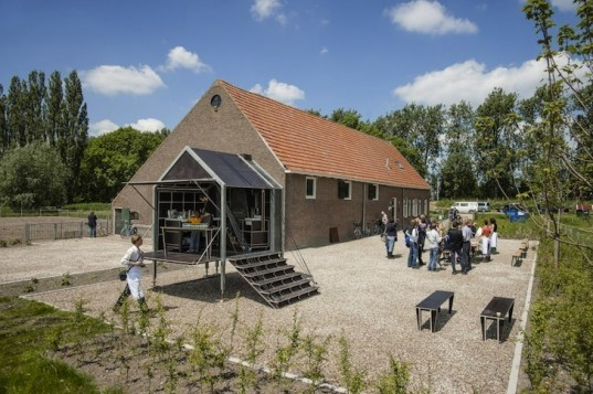 Studio Elmo Vermijs, Buijtenkeuken, The Netherlands, green design, sustainable design, eco-design, mobile design, Dutch, outdoor kitchen, mobile kitchen