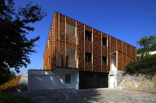 Marco Castelletti, Casa Ristrutturata, Architecture, renovation, sustainable renovation, green renovation, Italy, countryside, green design, sustainable design, eco-design, larch, recyclable materials, renewable materials