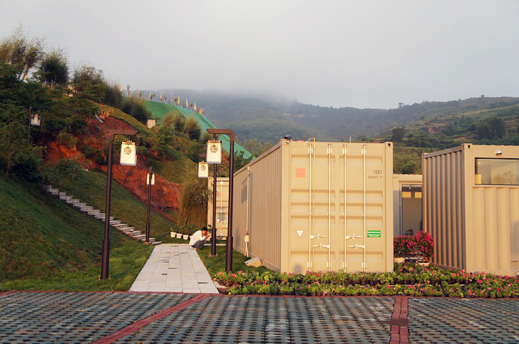 Luxury Hotel Made From 35 Recycled Shipping Containers Opens Next