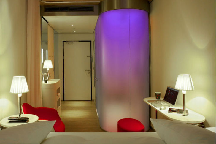 design hotel citizenm london, citizenm prefab hotels now provide affordable luxury in london and, Design ideen