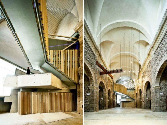 Convent de Sant Francesc, David Closes, church renovation, green renovation, spain, adaptive reuse,