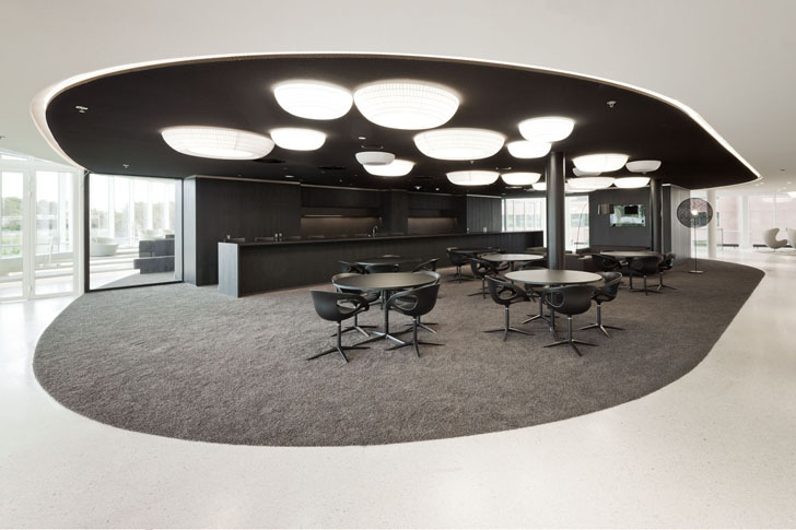 Dutch energy company eneco 39 s new rotterdam headquarters is for Space definition in architecture