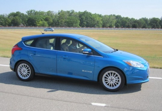 Ford Motor, Ford Focus Electric, Ford focus, focus electric, Ford, test drive, ev, leon kaye, electric vehicle