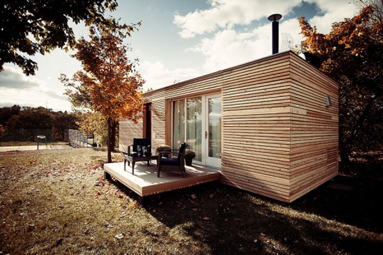 Freedomky Prefab House Atelier Štěpán, modular architecture, low-energy dwelling, green design, passive house