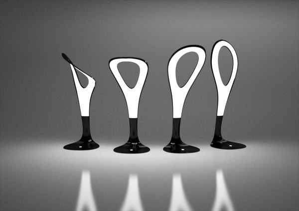 Gergo Kassai's Ultra-Thin OLED Motion Lamp Bends To Your Will ...