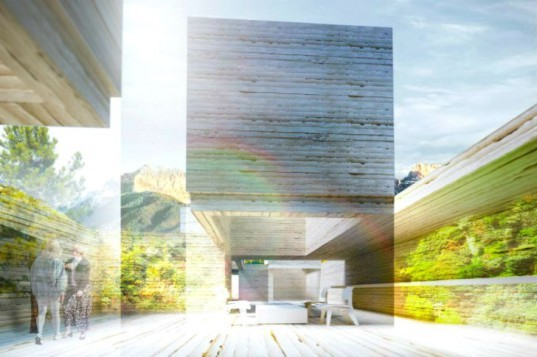 HOUS.E+, house plus, self sufficient house, Polifactory, rammed earth, net plus house, eco home concept
