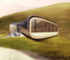 Solar and Wind-Powered Living Aleutian Home Resembles a Lobster Tail